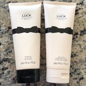 Avon Other - Avon Luck shower gel and body lotion set